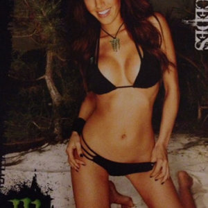 Monster energy poster signed by mercedes terrell